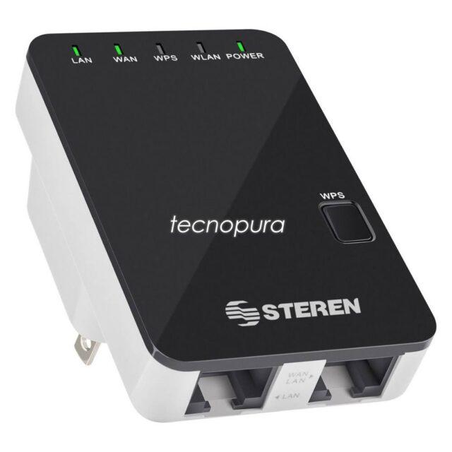 REPETIDOR WIFI AMPLIFICADOR DE SEÑAL 2,4 GHZ 300MBPS Y 15 M DE COBERTURA 📢¡Nuevo producto!  Con la ayuda de este repetidor Wifi podrás conectarte a Internet con velocidades de transmisión inalámbrica de hasta 300Mbps y con compatibilidad WPS para sacarle todo el provecho de tu red Wifi.  https://www.tecnopura.com/producto/repetidor-wifi-amplificador-de-senal-24-ghz-300mbps-y-15-m-de-cobertura/